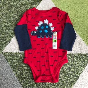 Children's Place Matching Sets - NWT Bundle 18M Boys Tee Bodysuit Red